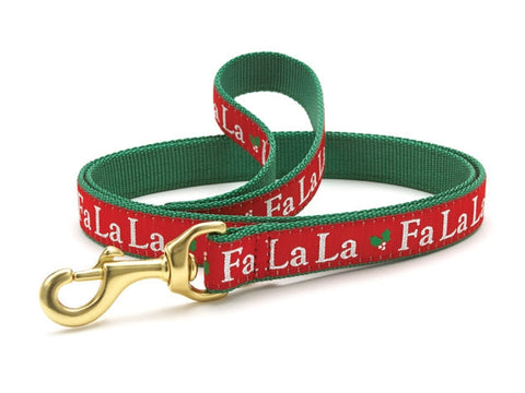 Up Country Fa La La Dog Leash