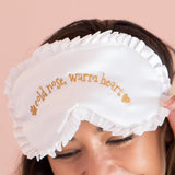 COLD NOSE, WARM HEART - SATIN SLEEPMASK