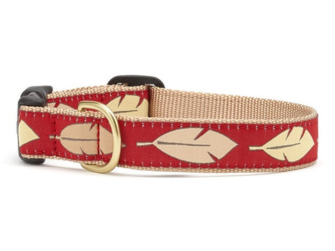 Up Country Feathers Dog Collar