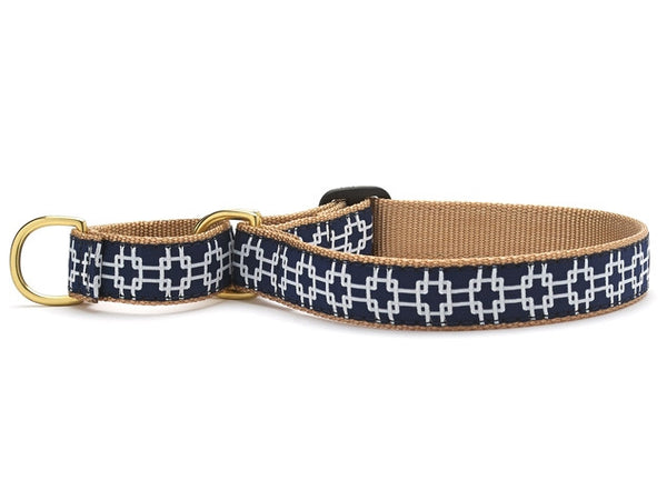 Up Country Gridlock Martingale Dog Collar