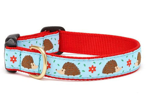 Up Country Hedgehog Dog Collar