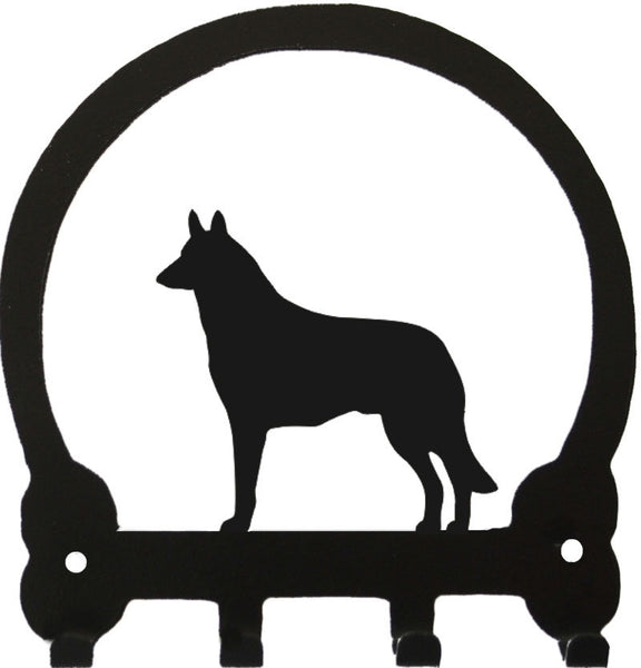 Sweeney Ridge Belgian Malinois Key Rack