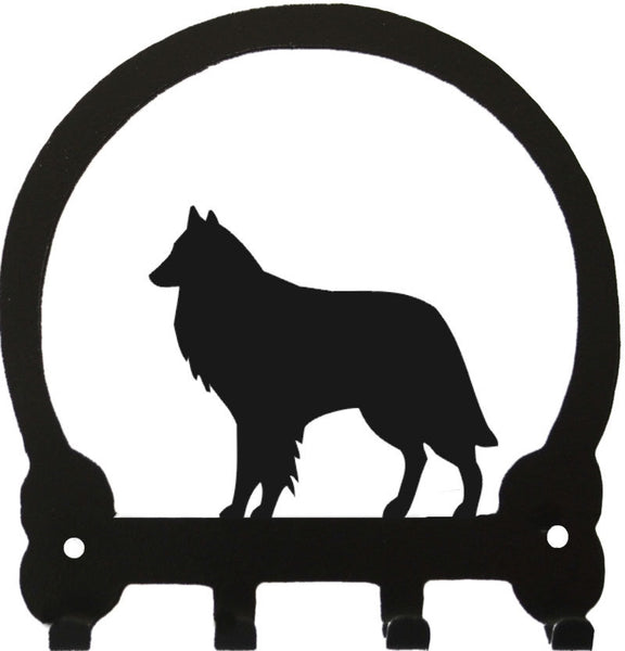 Sweeney Ridge Belgian Sheepdog Key Rack