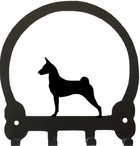 Sweeney Ridge Basenji Key Rack