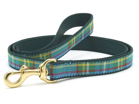 Up Country Kendall Plaid Dog Leash