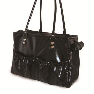 Lux Tote Dog Carrier - Black
