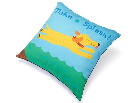 Make a Splash Accent Pillow