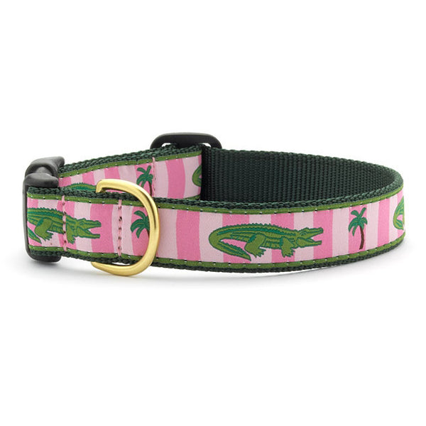 Up Country Alligators Dog Collar