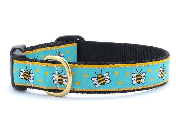 Up Country Bee Dog Collar