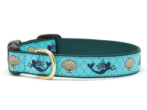 Up Country Mermaid Dog Collar