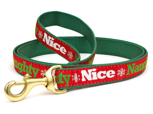 Up Country Naughty & Nice Dog Leash
