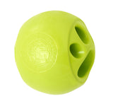 Planet Dog Orbee-Tuff Nook Dog Toy: Green Paw Print