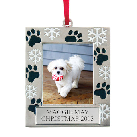 Dog Themed Christmas Ornaments
