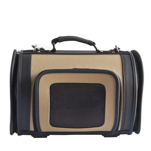 Petote Kelle Dog Carrier - Khaki