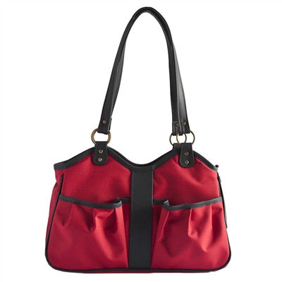 Petote Metro Classic Dog Carrier - Red