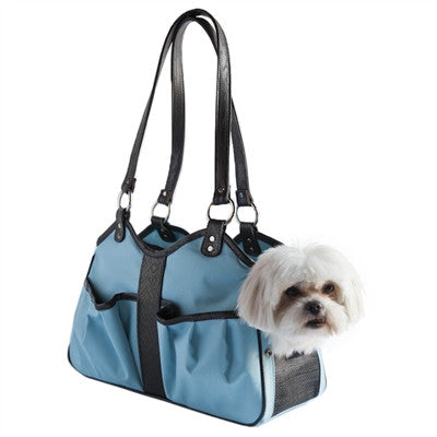 Petote Metro Classic Dog Carrier - Turquoise