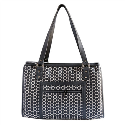 Petote Payton Dog Carrier - Reverse Noir Dots