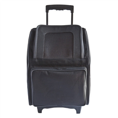 Petote Rio Bag On Wheels - Black