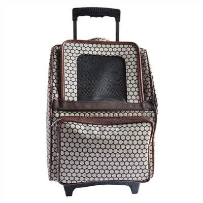 Petote Rio Bag On Wheels - Noir Dots