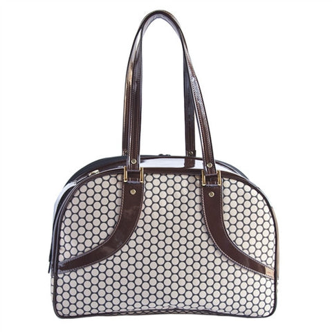 Petote Roxy Dog Carrier - Noir Dots