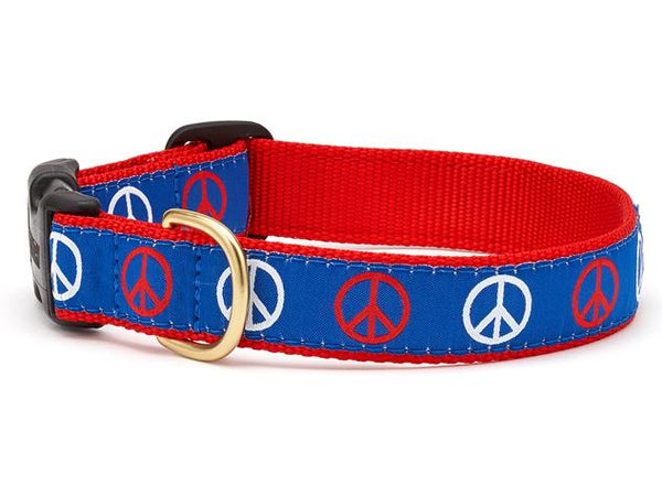 Up Country Peace Dog Collar