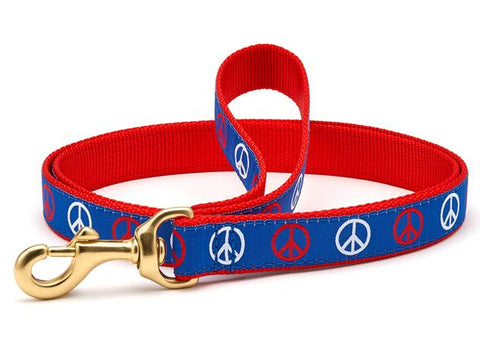 Up Country Peace Dog Leash