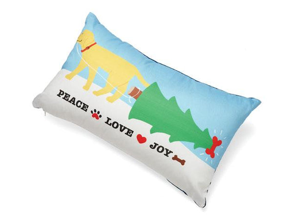 Peace Love Joy Decorative Accent Pillow
