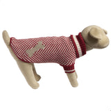Eco Pet Recycled Cotton Dog Sweater - Red