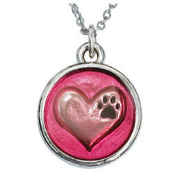 In My Heart Pink Necklace