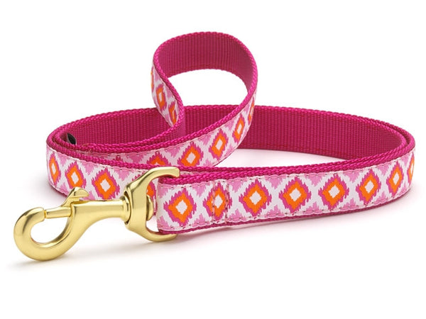 Up Country Pink Crush Dog Leash