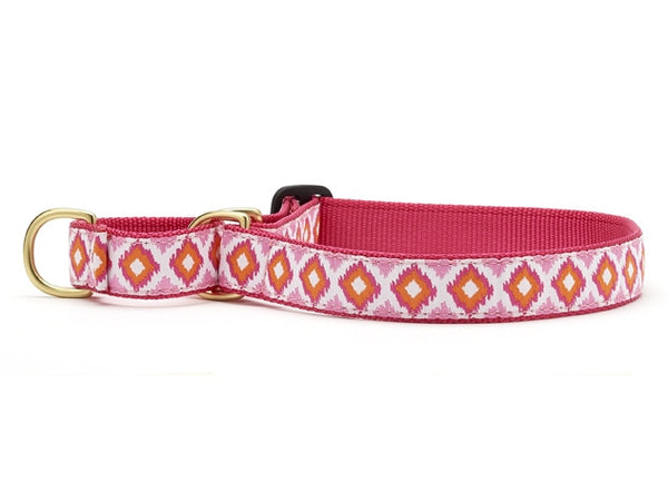 Up Country Pink Crush Martingale Dog Collar