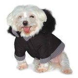 Pocket Parka Dog Coat - Black
