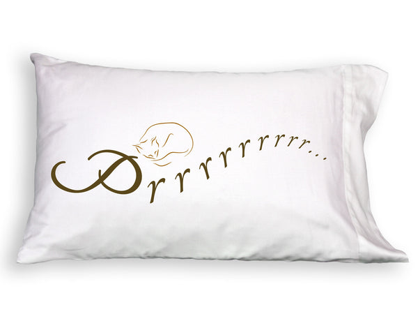 Prrrrrr Single Pillowcase