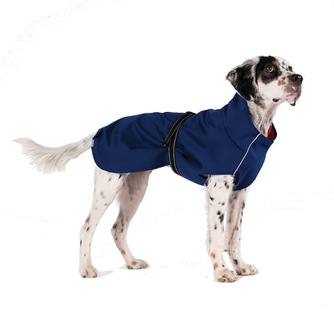 Rain Paw All-Season Dog Coat - Navy Blue/Navy Blue