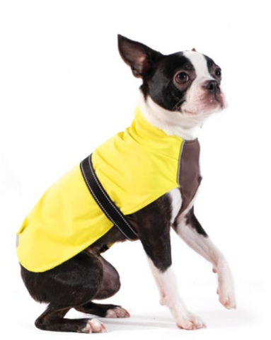 Rain Paw Waterproof All-Season Dog Coat - Neon Yellow