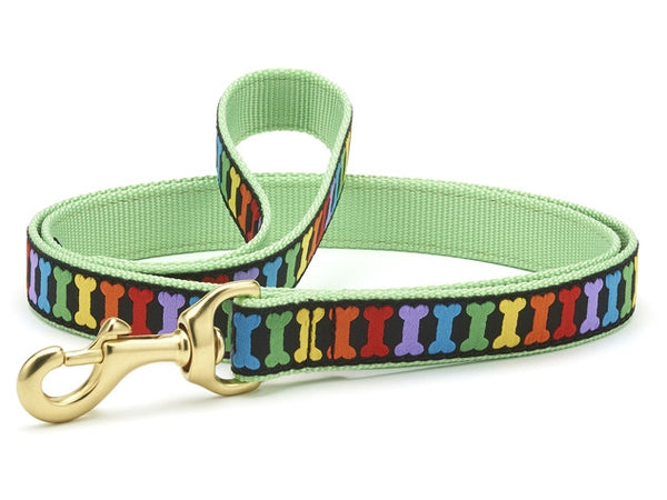 Up Country Rainbones Dog Leash