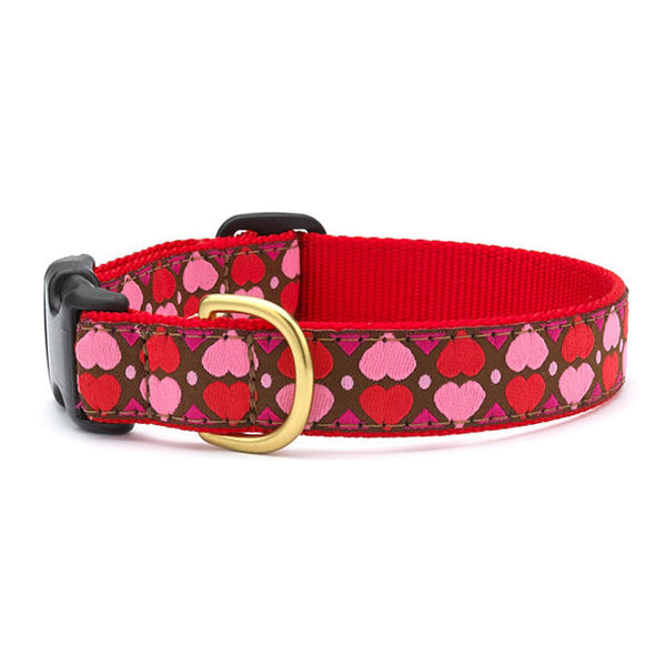 Up Country All Hearts Dog Collar