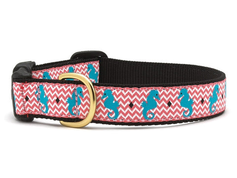 Up Country Seahorse Dog Collar
