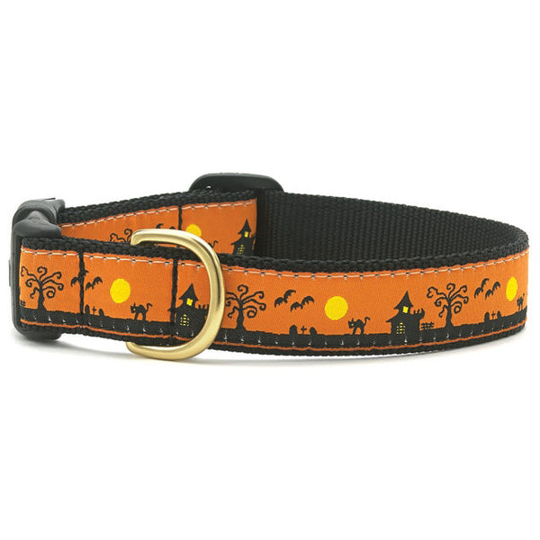 Up Country Spookytown Dog Collar