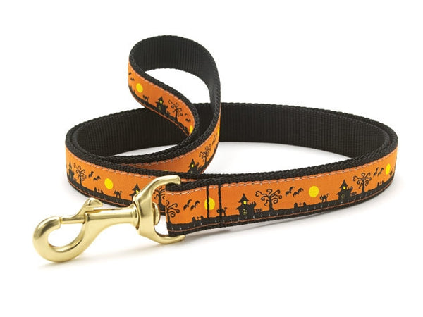 Up Country Spookytown Dog Leash