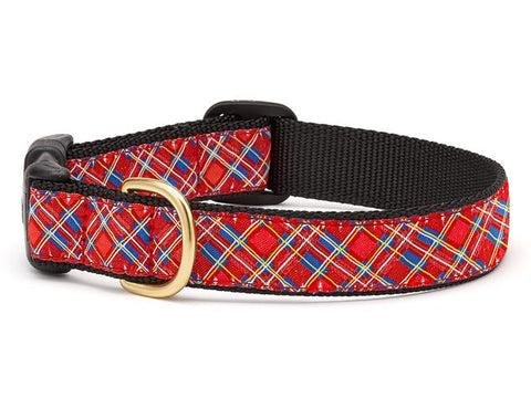 Up Country Stewart Plaid Dog Collar