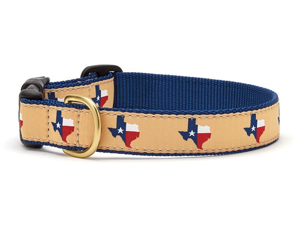 Up Country Texas (Navy) Dog Collar