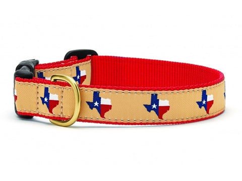 Up Country Texas (Red) Dog Collar