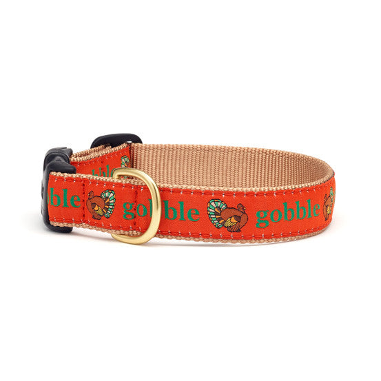 Up Country Gobble Gobble Turkey Dog Collar