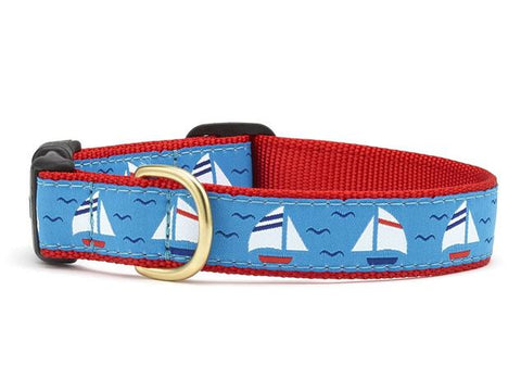 Up Country Under Sail Dog Collar