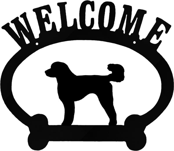 Sweeney Ridge Goldendoodle Welcome Sign