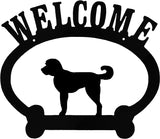 Sweeney Ridge Labradoodle Welcome Sign
