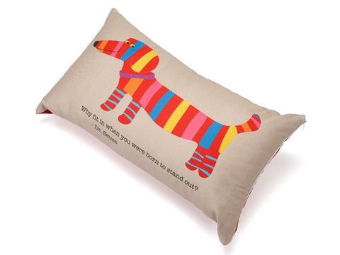 Why Fit In When You Were Born To Stand Out? Accent Pillow