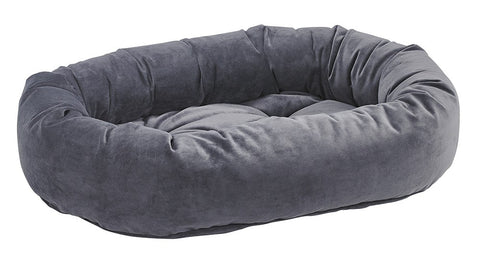 Bowsers Amethyst Microvelvet Donut Dog Bed