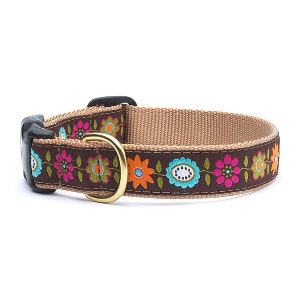 Up Country Bella Floral Dog Collar